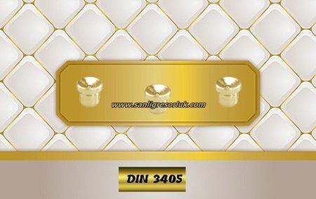 Flush Type greasenipple type N Brass (D1a) DIN 3405