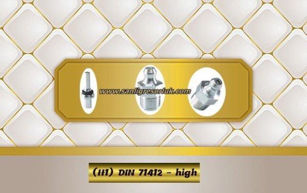 Hydraulic grease nipple HR (H1) DIN 71412 – high