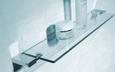Bathroom Accessories Glass Shelves Bathroom Design