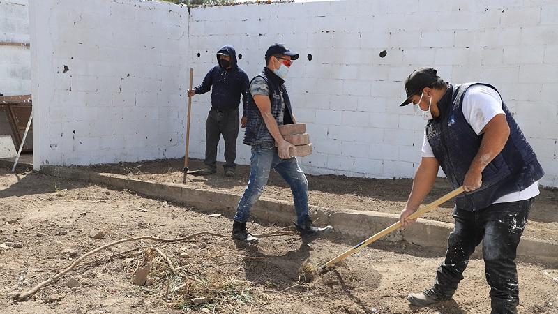 """Obras en albergue """"Nuestra Casa"""" para mejor atención a sectores vulnerables"""