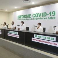 Repuntan contagios de coronavirus en el estado