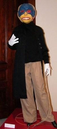 Diablo de Tanlajás en el Museo Nacional de la Máscara
