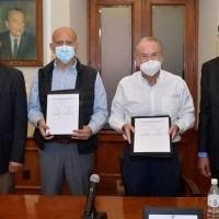 Firman acta de adhesión del Hospital General de SGS al INSABI