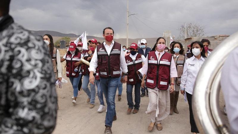 Reafirma Xavier Nava mas obras, acciones y programas en zonas con más necesidades