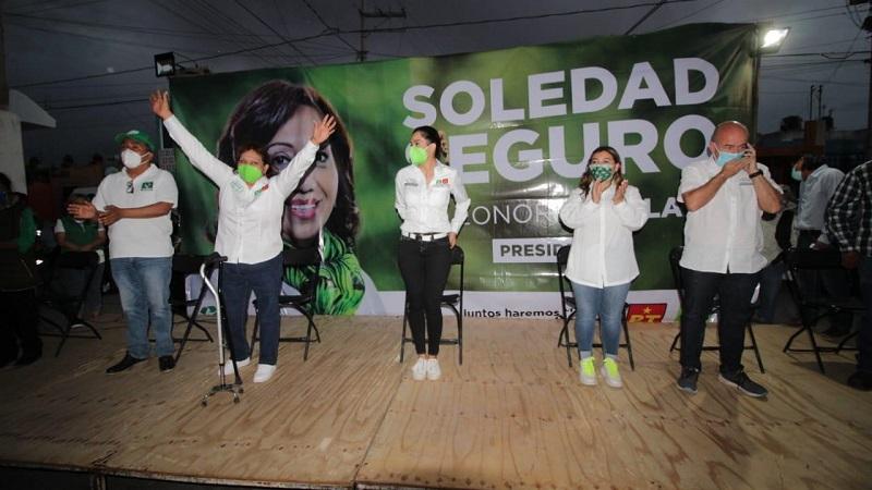 Tenemos el valor para trabajar por las comunidades de Soledad: Leonor Noyola