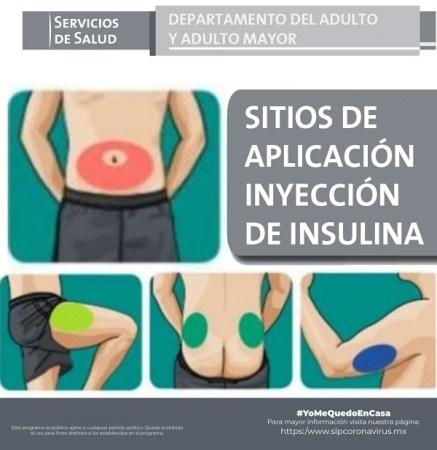 SSA difunde técnicas para la aplicación de insulina