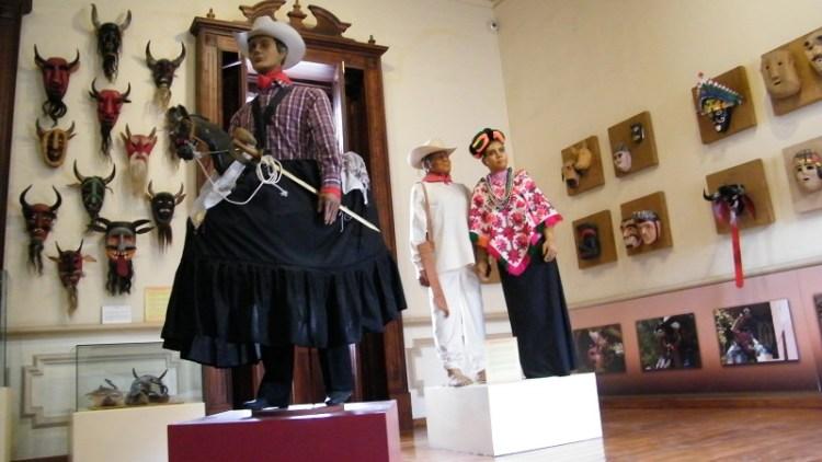 Máscaras de San Luis Potosí en el Museo Nacional de la Máscara