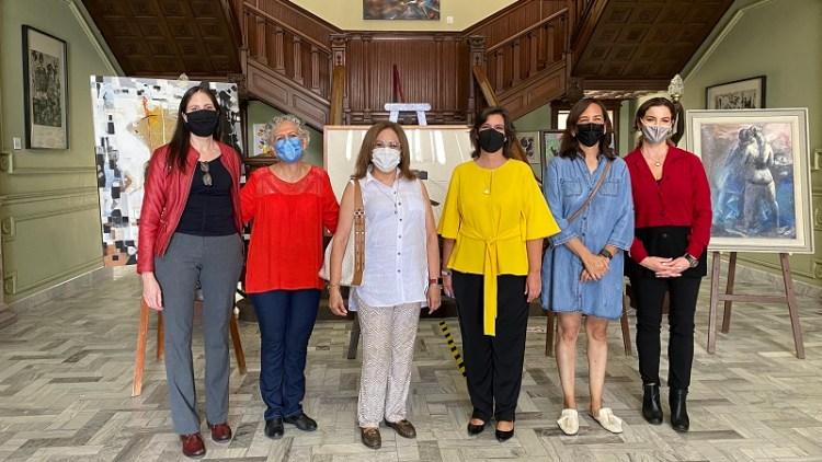 Artistas potosinas y coleccionistas realizan donación al Museo Francisco Cossío