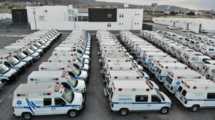 """Ambulancias """"guardadas"""" de anterior gobierno van a municipios"""