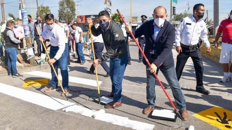 Arranca Ricardo Gallardo proyecto de reconstrucción en la zona metropolitana