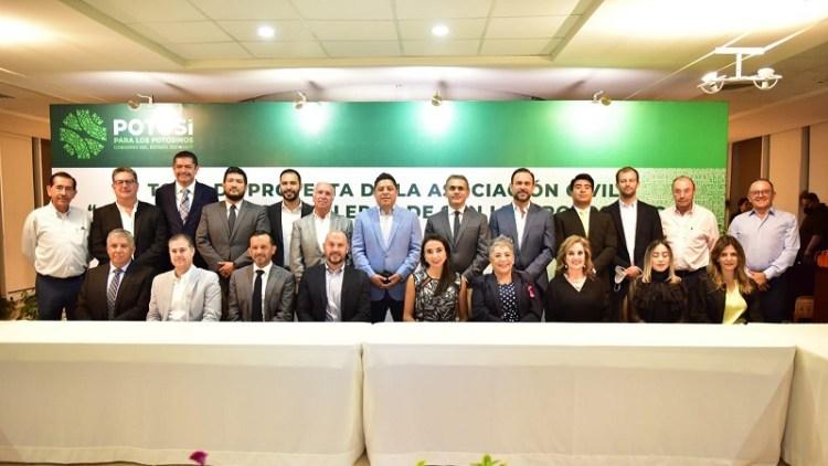 Con inversión histórica de dos mil 450 MDP Ricardo Gallardo anunció la creación de la Riviera Huasteca