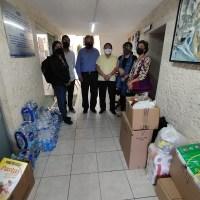 Centro de las Artes entrega donativo de víveres a Casa del Migrante