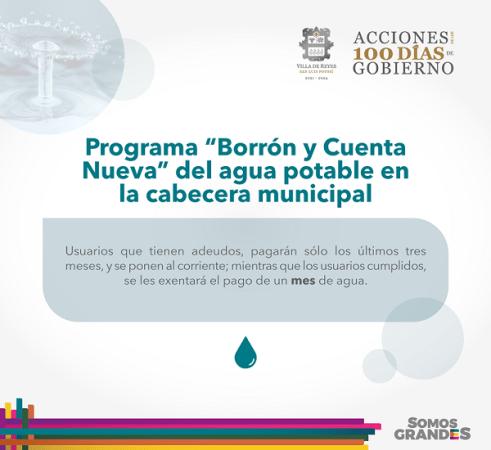 """Programa """"Borrón y Cuenta Nueva"""" para beneficio de habitantes de Villa de Reyes."""