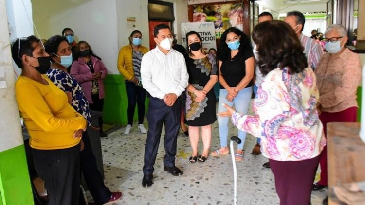 Leonor Noyola realiza supervisión en áreas del Ayuntamiento