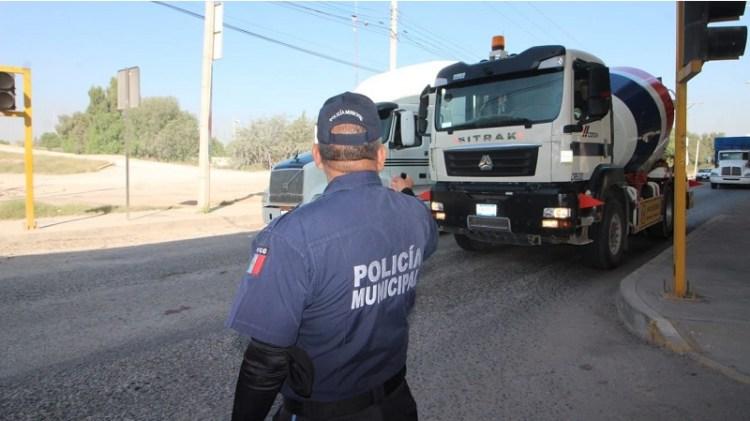 Tránsito Municipal de Soledad implementa operativo vial en entrada a La Virgen