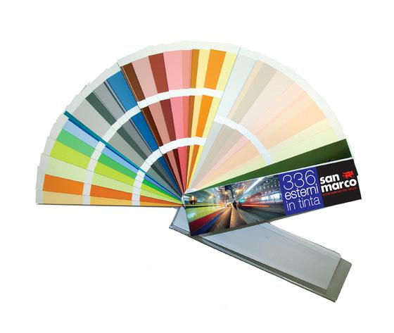 Otto famiglie di colori ciascuna declinata in cinque armoniose sfumature capaci di vestire in maniera dinamica e attuale qualsiasi tipo di ambiente interno. Mazzetta Colori 336 Esterni In Tinta Attrezzi E Comple