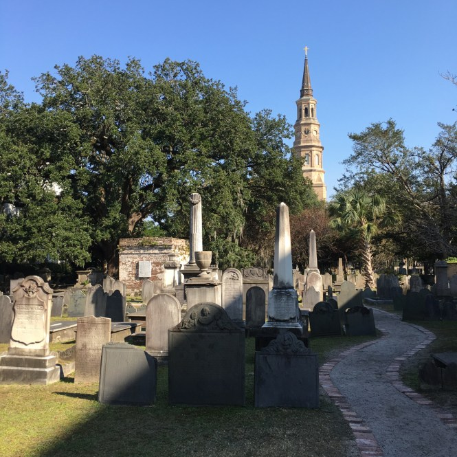 Old cemetery in Charleston