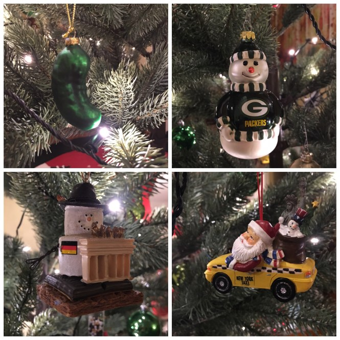 German American Christmas Tree Ornaments