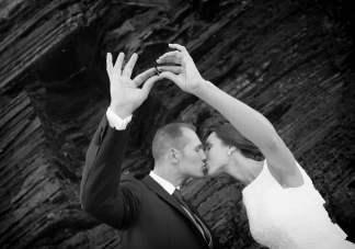 Foto boda en Blanco y Negro