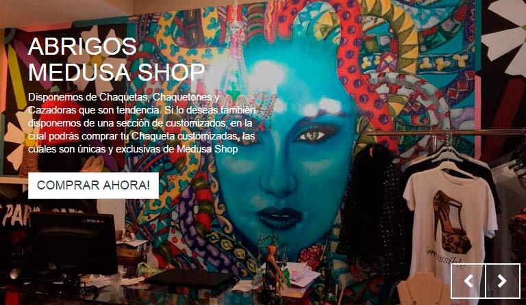 Nueva tienda online, MedusaShop