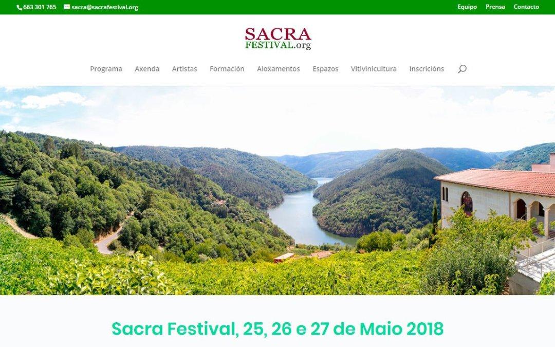 Web SacraFestival.org
