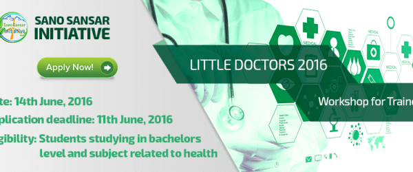 Workshop for Trainers of Little Doctors 2016