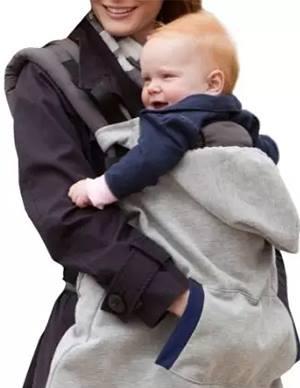 Дреха с качулка с която можете да носите вашето бебе