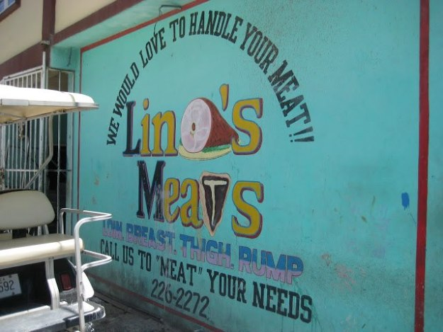 Old Linos Sign