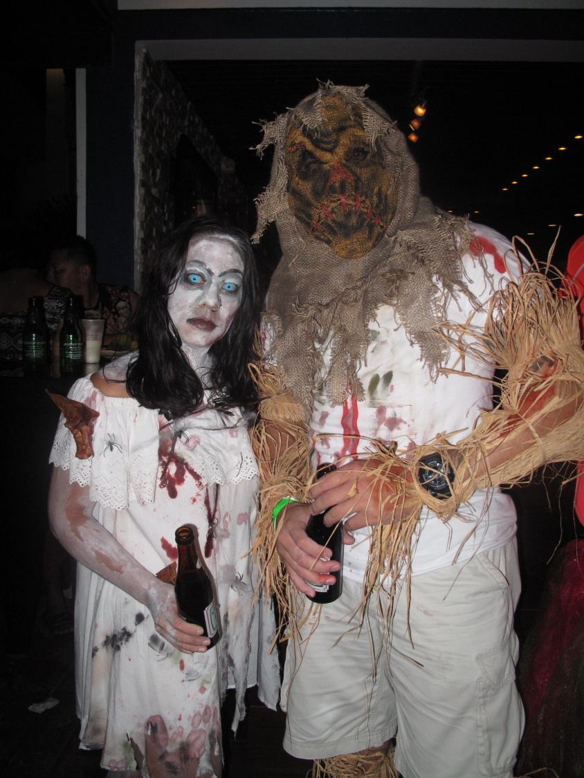 2013 halloween in san pedro, belize is huge once again - plan for