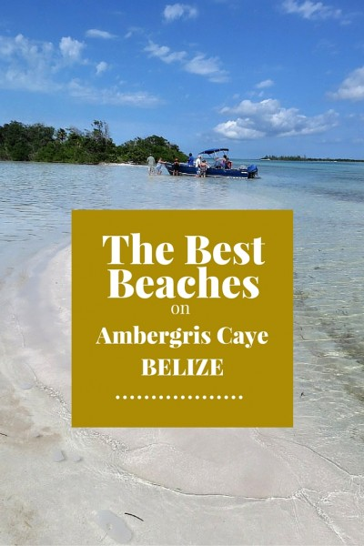 The Best Swimming Beach on Ambergris Caye Belize