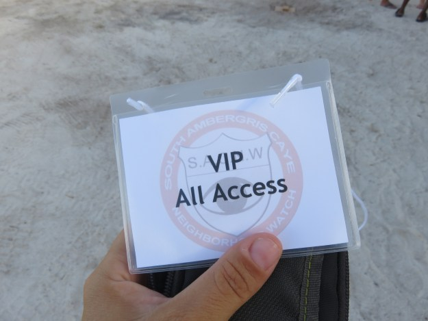 VIP ALL Access Steve Miller Band Belize