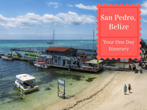 Itinerary if you MUST spend just one day on Ambergris Caye, Belize. Snorkeling, EATING and lots more.