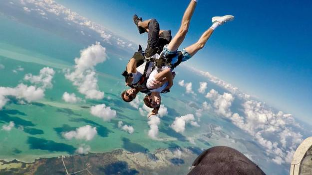 skyDive WOW