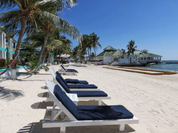 The Beach at Banyan Bay San Pedro Belize