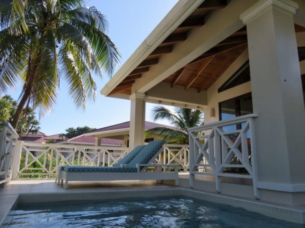 Personal pool Naia Resort, Placencia Belize