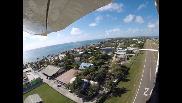 Sky DIve San Pedro View of Ambergris Caye