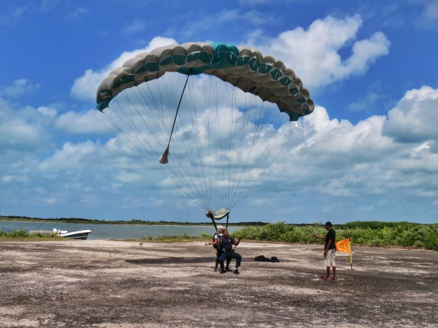 Skydive in San Pedro, Belize