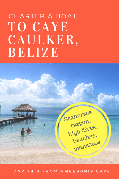 A GORGEOUS day trip from Ambergris Caye - Charter a boat or jump on the water taxi. The Split, Koko King, tarpon...so fun with kids.