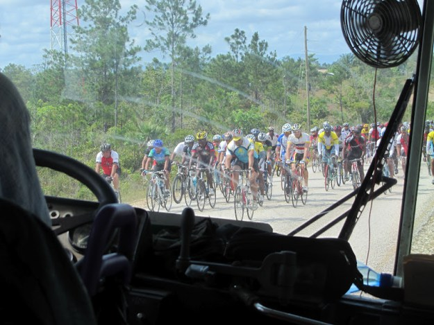 Bike Race in Belize