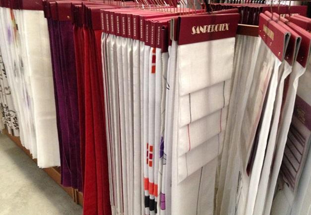 Muestrarios y Catálogos de Cortinas para tiendas