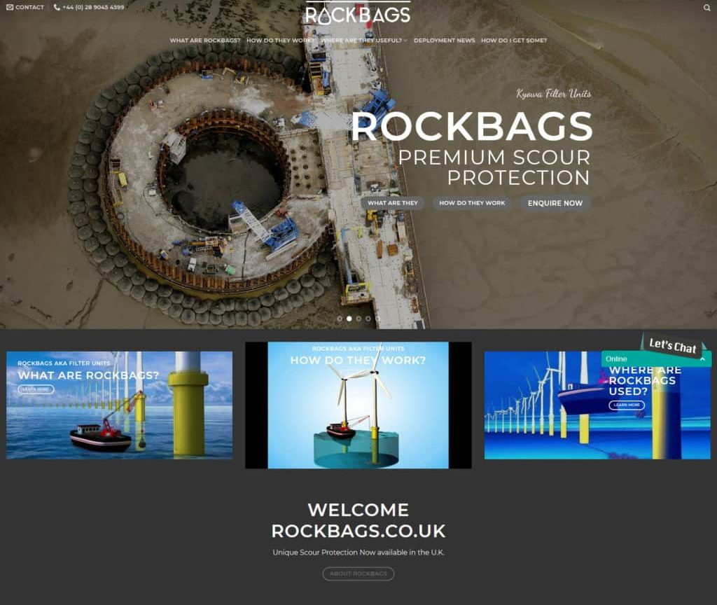 rockbags website