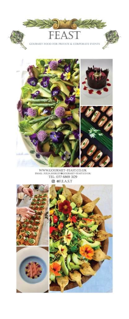 Gourmet Feast pop-up banner