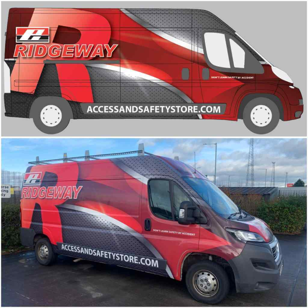 Ridgeway vehicle livery