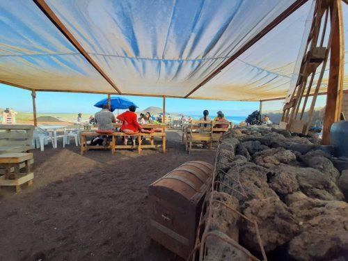 La Chorera Seafood Village in San Quintin, Baja California, Mexico