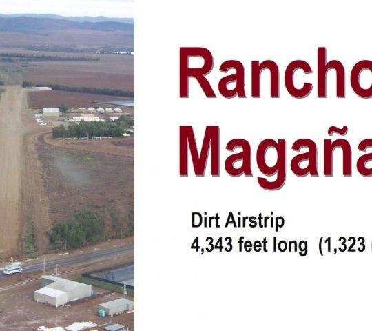 Rancho Magaña Airstrip