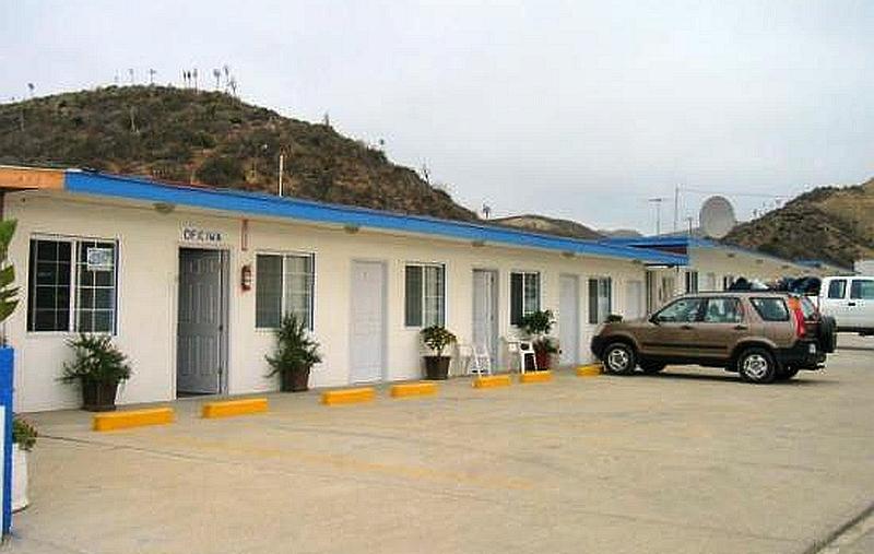 Motel Turista in El Rosario, Baja California Mexico