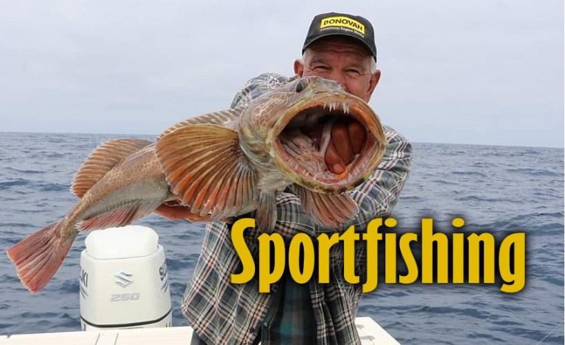 Sportfishing in San Quintin Bay, Baja California Mexico