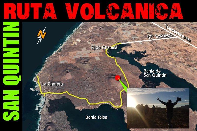 Kenton Volcano - San Quintin, Baja California Mexico