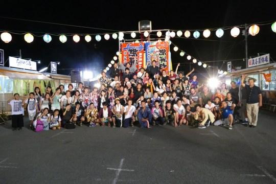 8月14日(日)ネバー大盆踊り大会・屋台と縁日コーナーの様子!