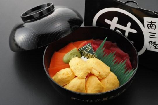 今週のイチ丼!「オーイング菓子工房 Ryo」のキラキラうに丼!